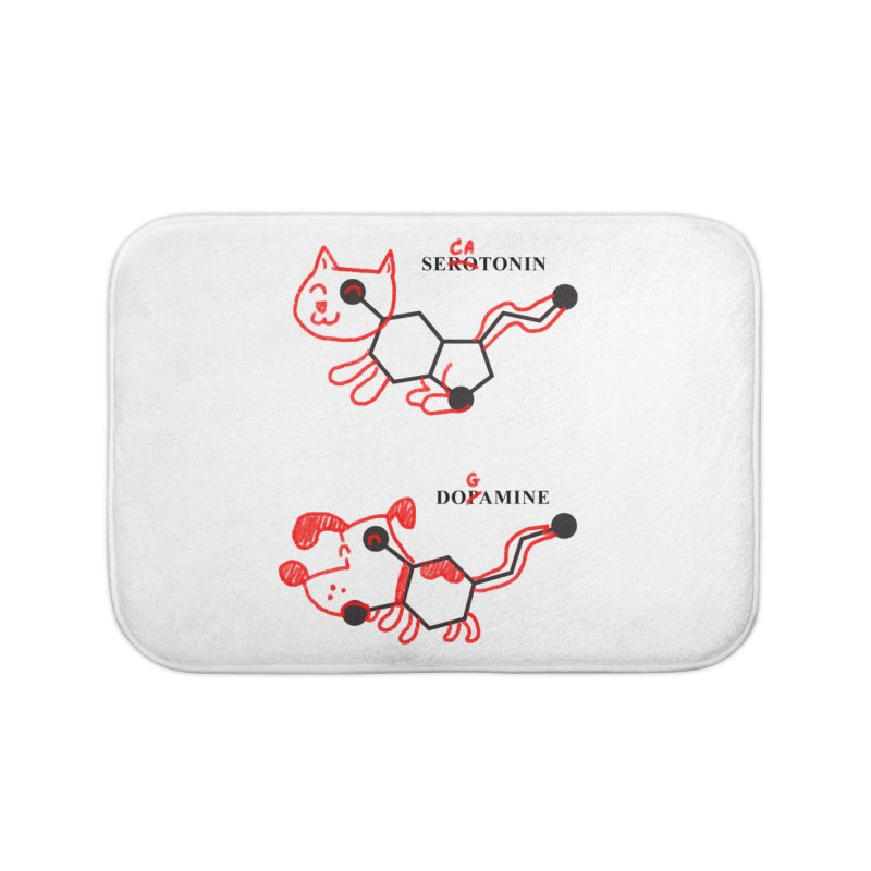 The Hormones of Happiness Home Bath Mat by Rodrigobhz