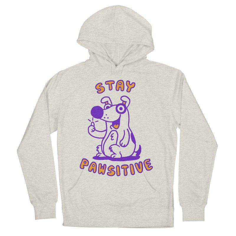 Stay Pawsitive (Dog version) Women's Pullover Hoody by Rodrigobhz
