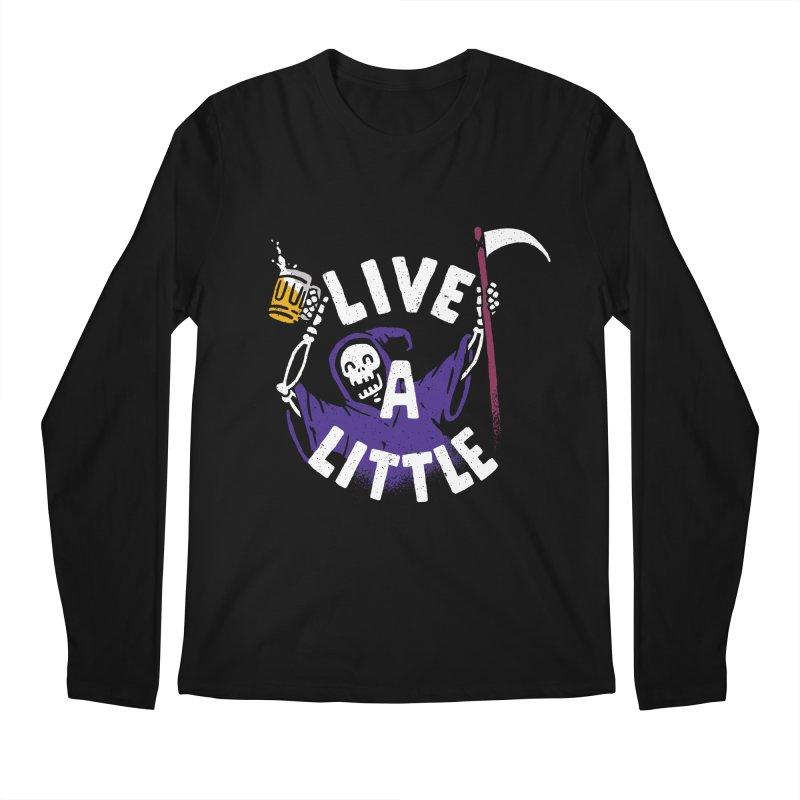 Live a little Men's Regular Longsleeve T-Shirt by Rodrigobhz
