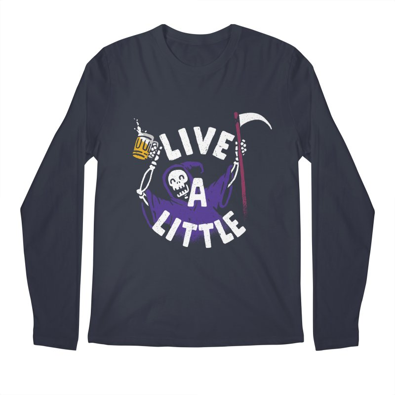 Live a little Men's Regular Longsleeve T-Shirt by Rodrigobhz