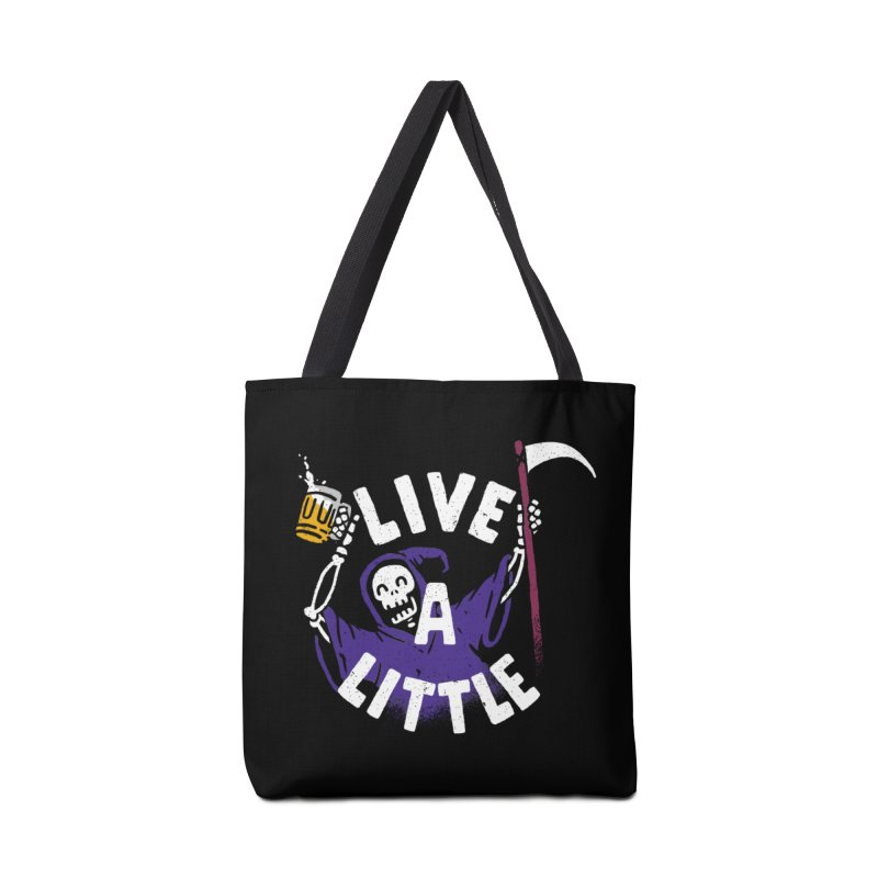 Live a little Accessories Bag by Rodrigobhz