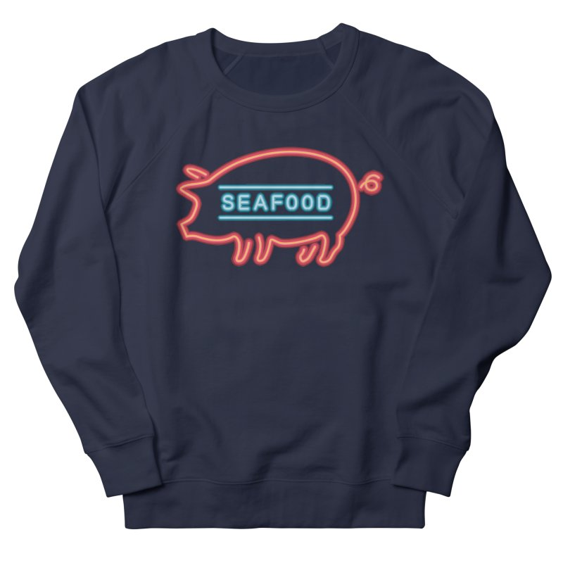 Coffee shop neon sign Women's Sweatshirt by Rodrigobhz