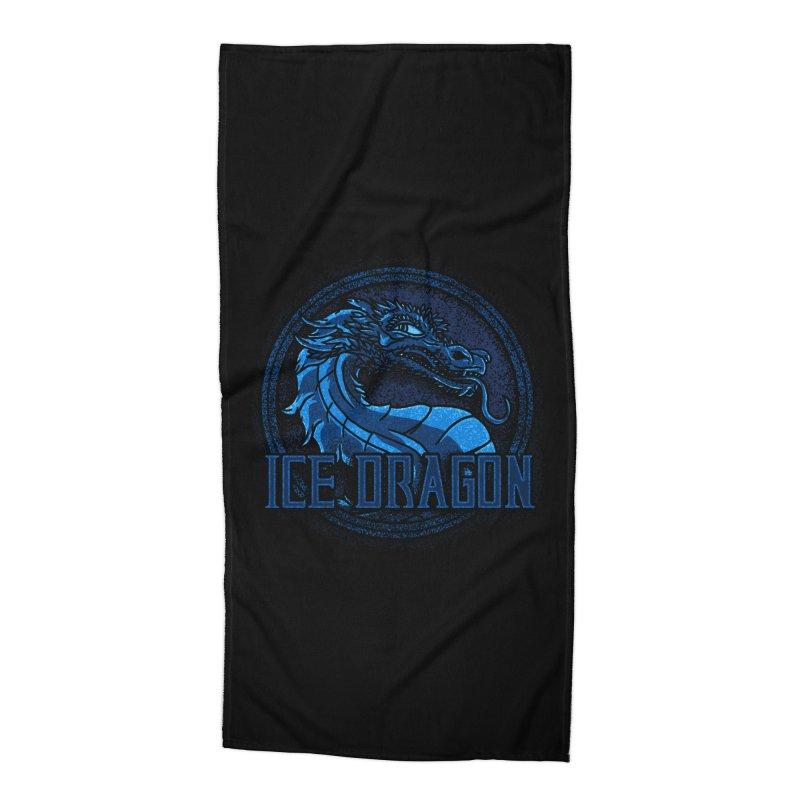 Ice Dragon Accessories Beach Towel by Rodrigobhz