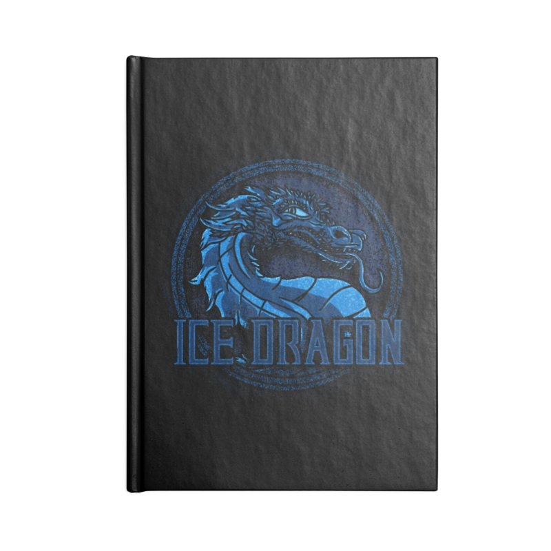 Ice Dragon Accessories Notebook by Rodrigobhz