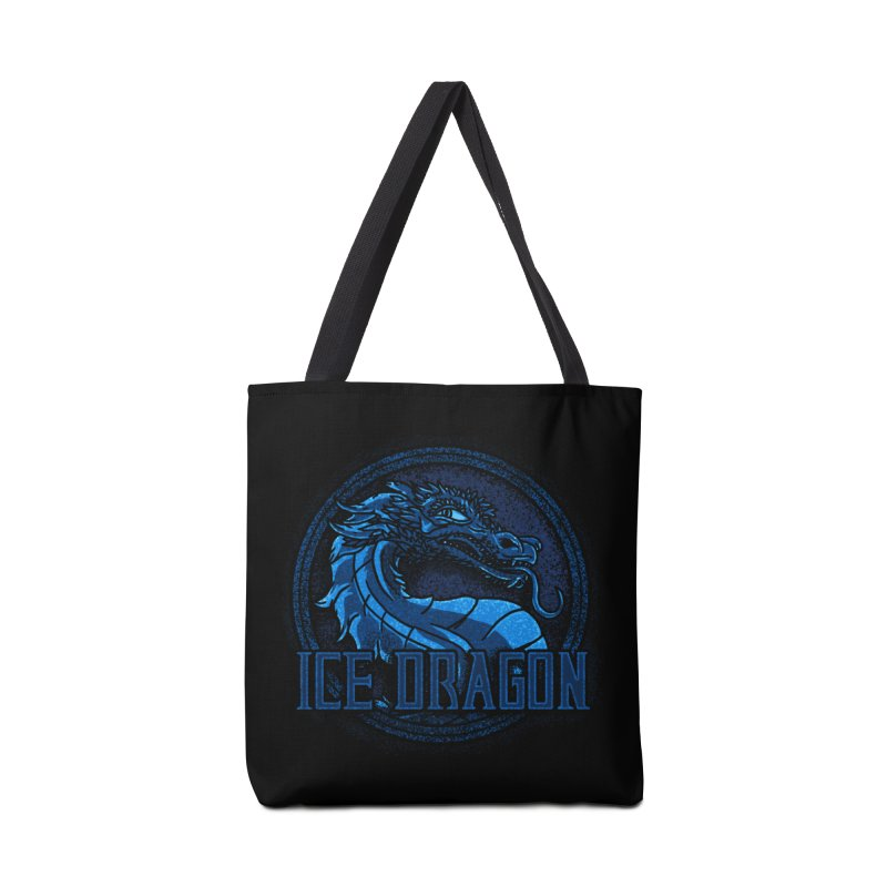 Ice Dragon Accessories Bag by Rodrigobhz