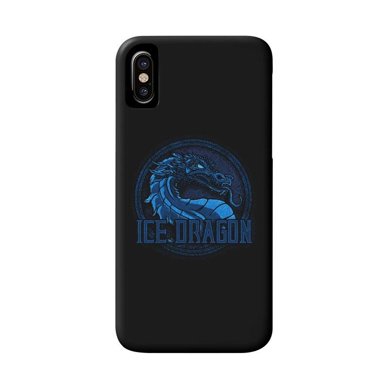 Ice Dragon Accessories Phone Case by Rodrigobhz