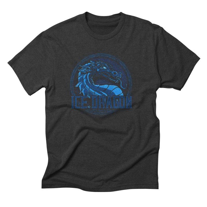 Ice Dragon Men's Triblend T-Shirt by Rodrigobhz