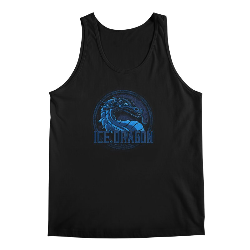 Ice Dragon Men's Tank by Rodrigobhz
