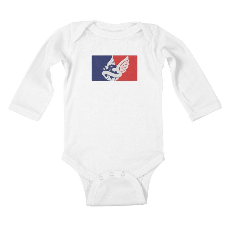 NMKL Kids Baby Longsleeve Bodysuit by Rodrigobhz