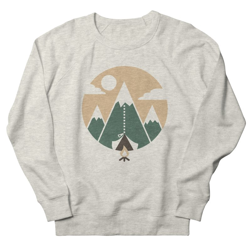 Mountain tent Men's Sweatshirt by Rodrigobhz