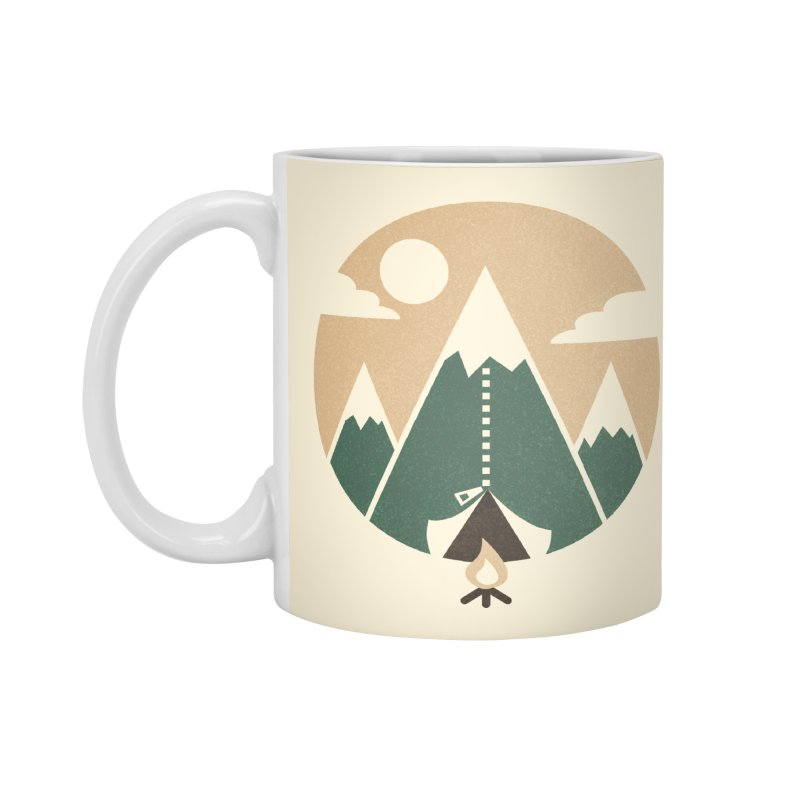Mountain tent Accessories Mug by Rodrigobhz
