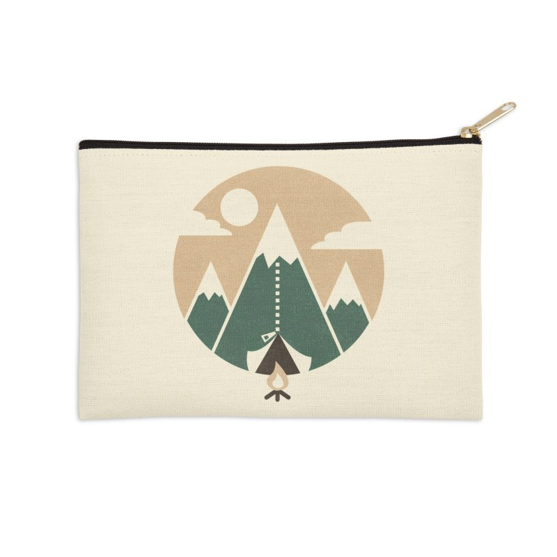 Mountain tent Accessories Zip Pouch by Rodrigobhz