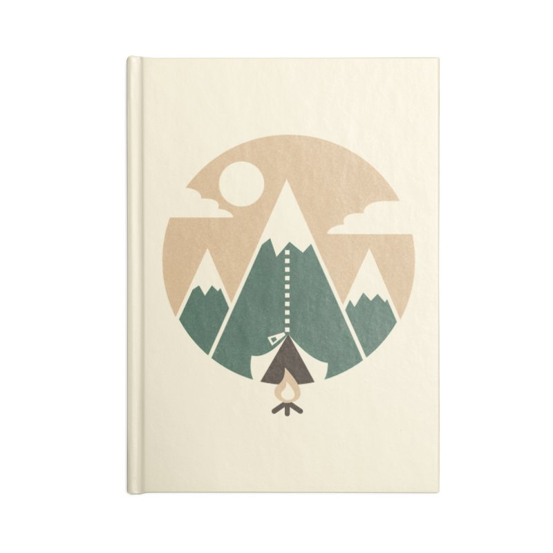 Mountain tent Accessories Notebook by Rodrigobhz