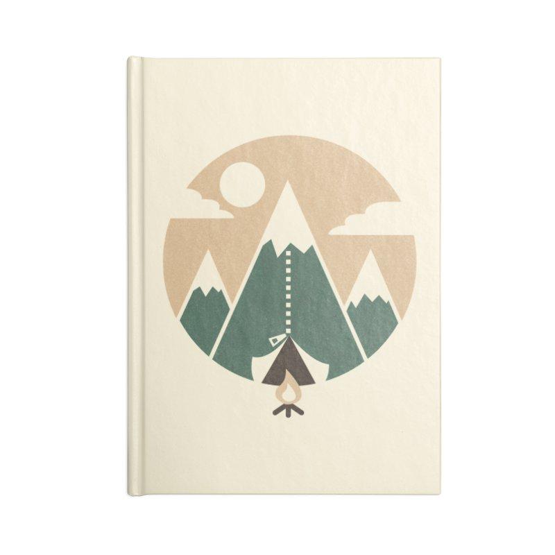 Mountain tent Accessories Notebook by Rodrigobhz