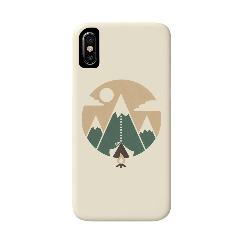 Mountain tent Accessories Phone Case by Rodrigobhz