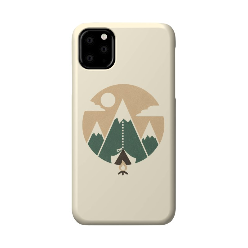 Mountain tent Accessories Phone Case by Rodrigobhz