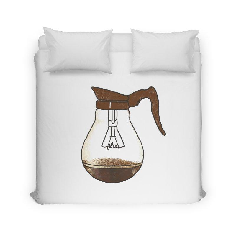 Coffee is always a good idea Home Duvet by Rodrigobhz