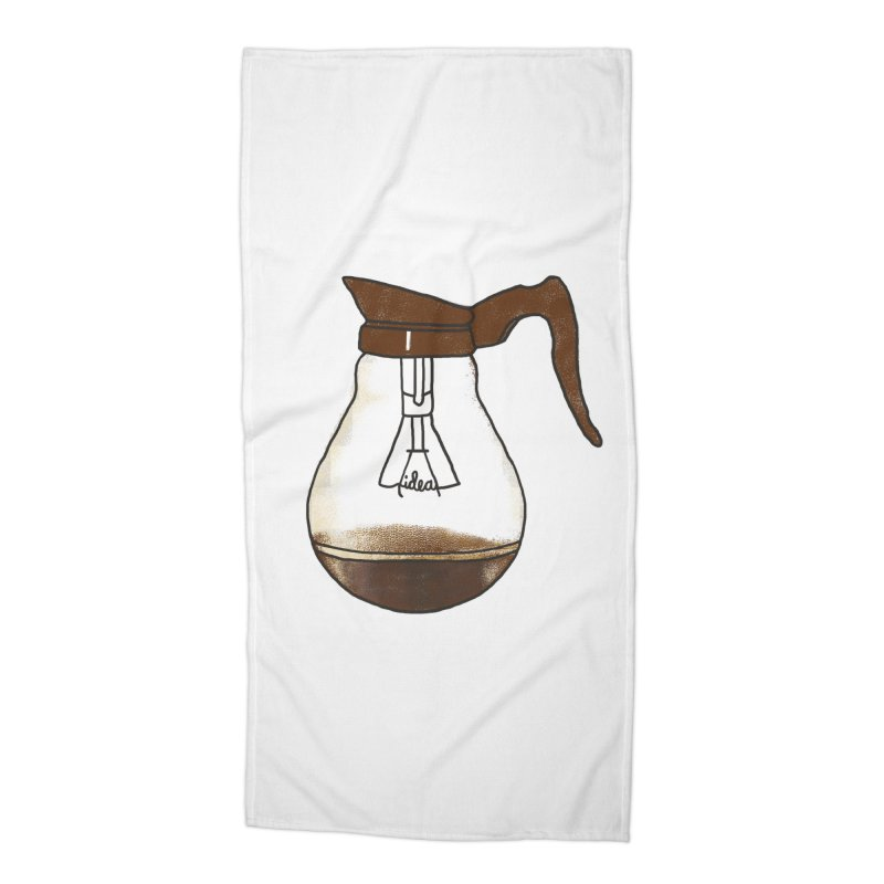 Coffee is always a good idea Accessories Beach Towel by Rodrigobhz