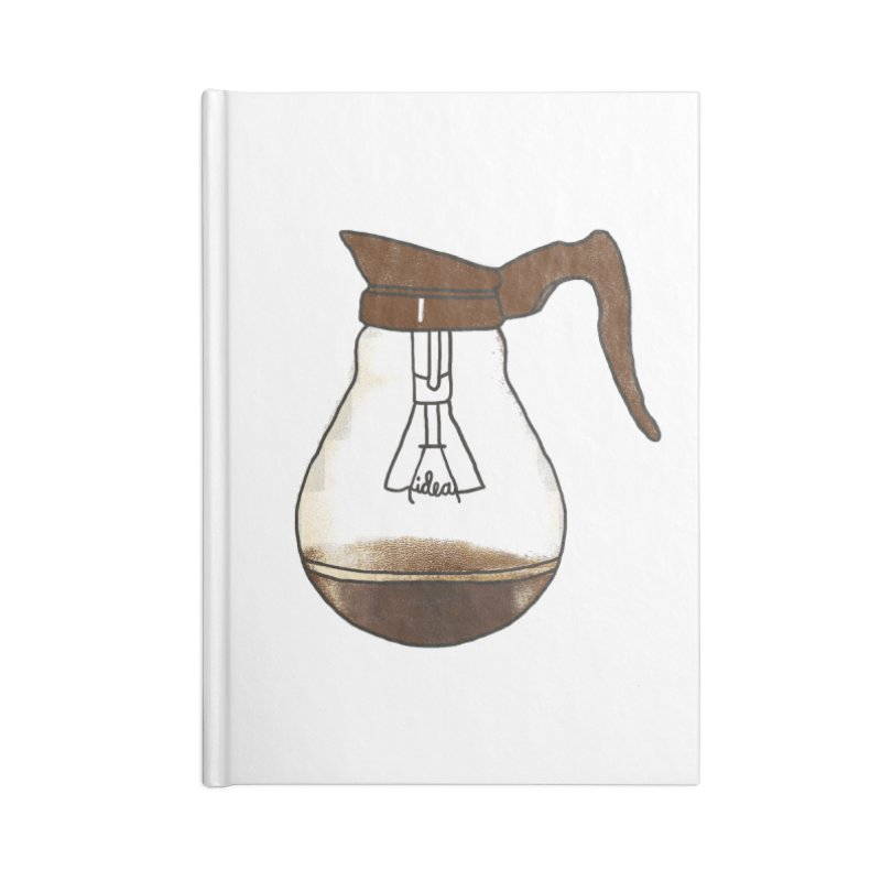 Coffee is always a good idea Accessories Notebook by Rodrigobhz