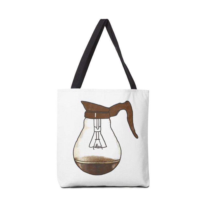 Coffee is always a good idea Accessories Bag by Rodrigobhz