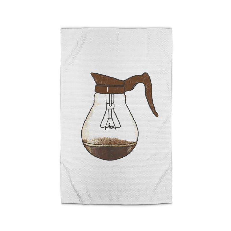 Coffee is always a good idea Home Rug by Rodrigobhz