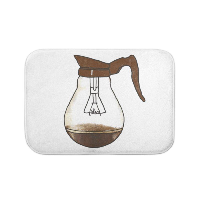 Coffee is always a good idea Home Bath Mat by Rodrigobhz