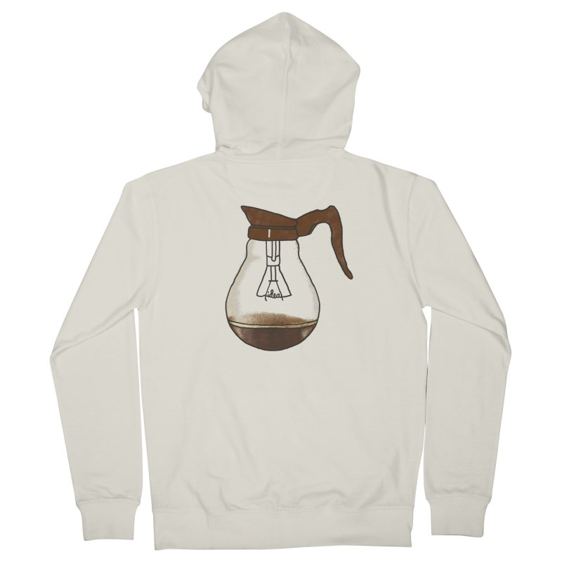 Coffee is always a good idea Men's Zip-Up Hoody by Rodrigobhz