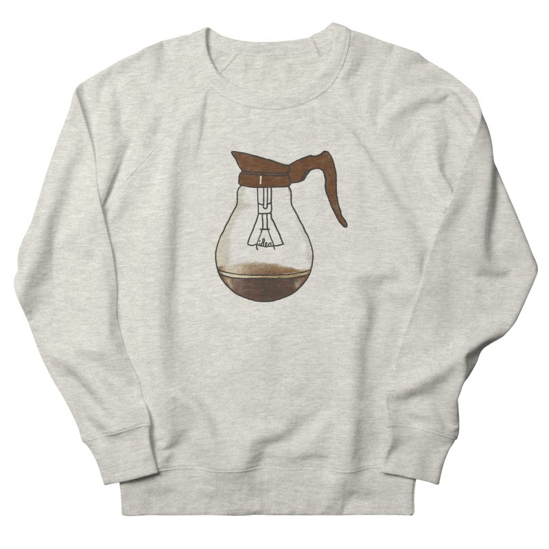Coffee is always a good idea Men's French Terry Sweatshirt by Rodrigobhz