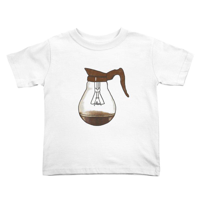 Coffee is always a good idea Kids Toddler T-Shirt by Rodrigobhz