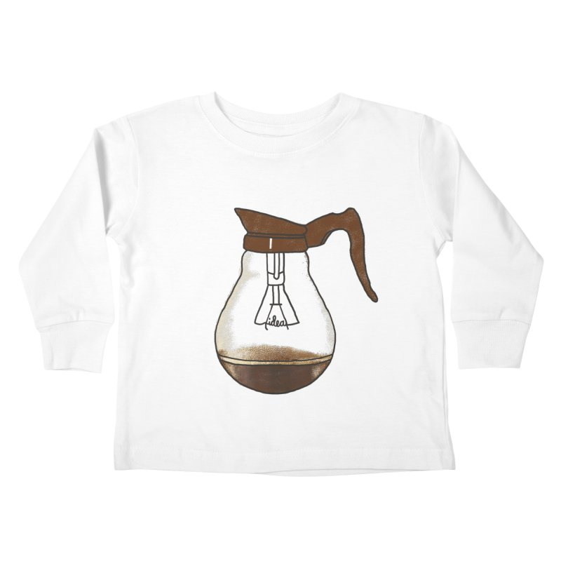 Coffee is always a good idea Kids Toddler Longsleeve T-Shirt by Rodrigobhz