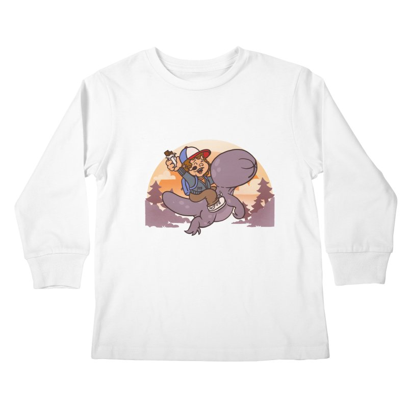 Stranger Bros Kids Longsleeve T-Shirt by Rodrigobhz
