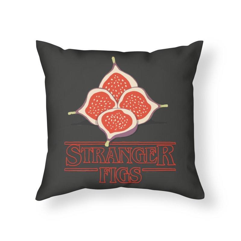 Stranger Figs Home Throw Pillow by Rodrigobhz