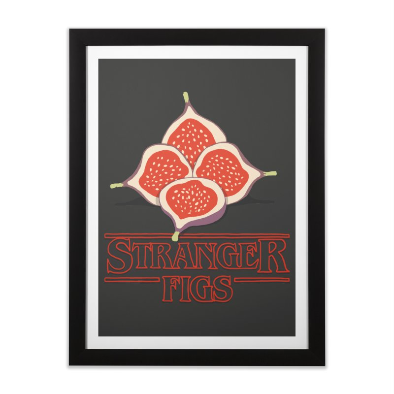Stranger Figs Home Framed Fine Art Print by Rodrigobhz