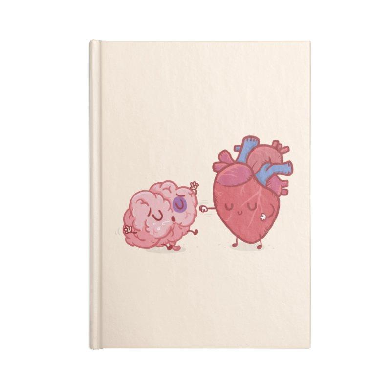 Reason vs Emotion Accessories Notebook by Rodrigobhz