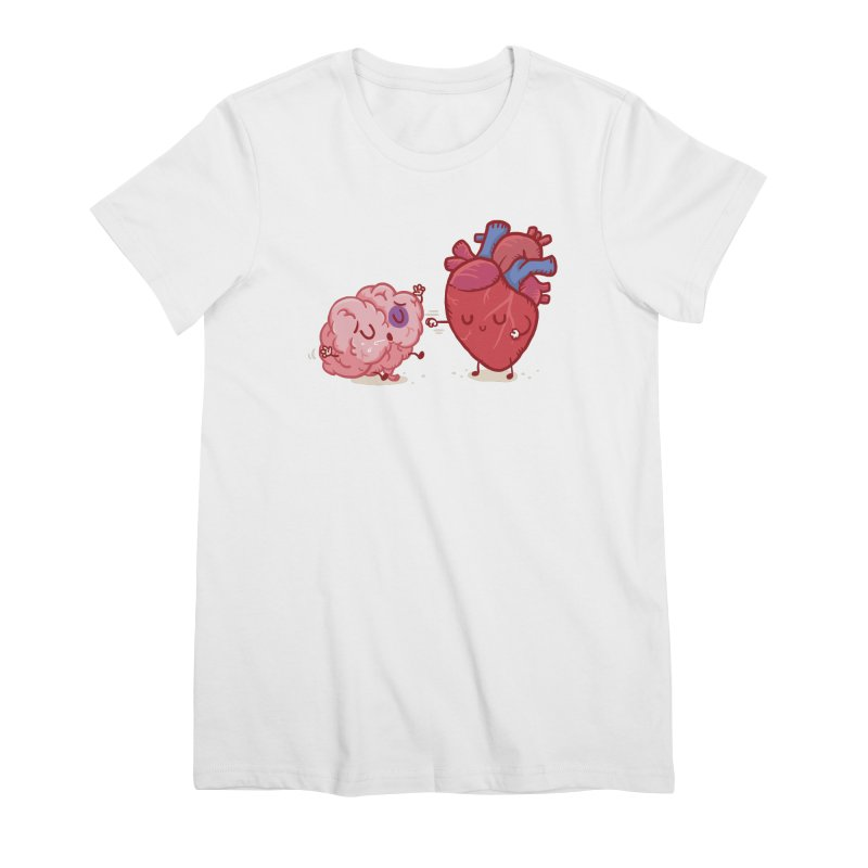 Reason vs Emotion Women's Premium T-Shirt by Rodrigobhz