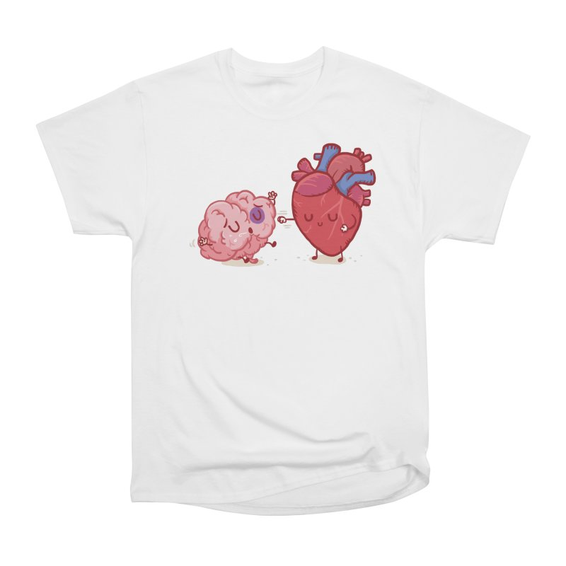 Reason vs Emotion Men's T-Shirt by Rodrigobhz