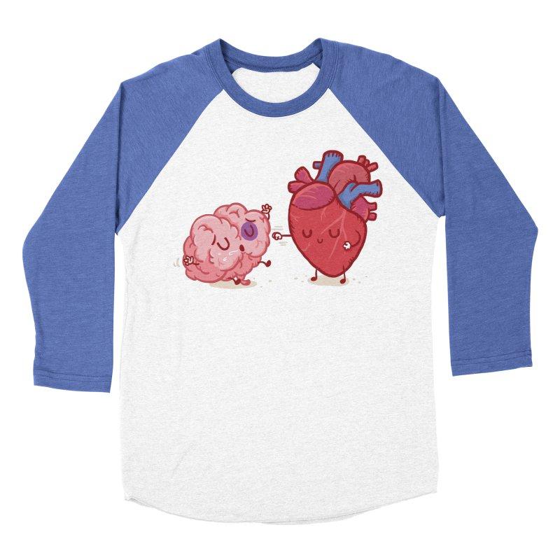 Reason vs Emotion Women's Baseball Triblend Longsleeve T-Shirt by Rodrigobhz