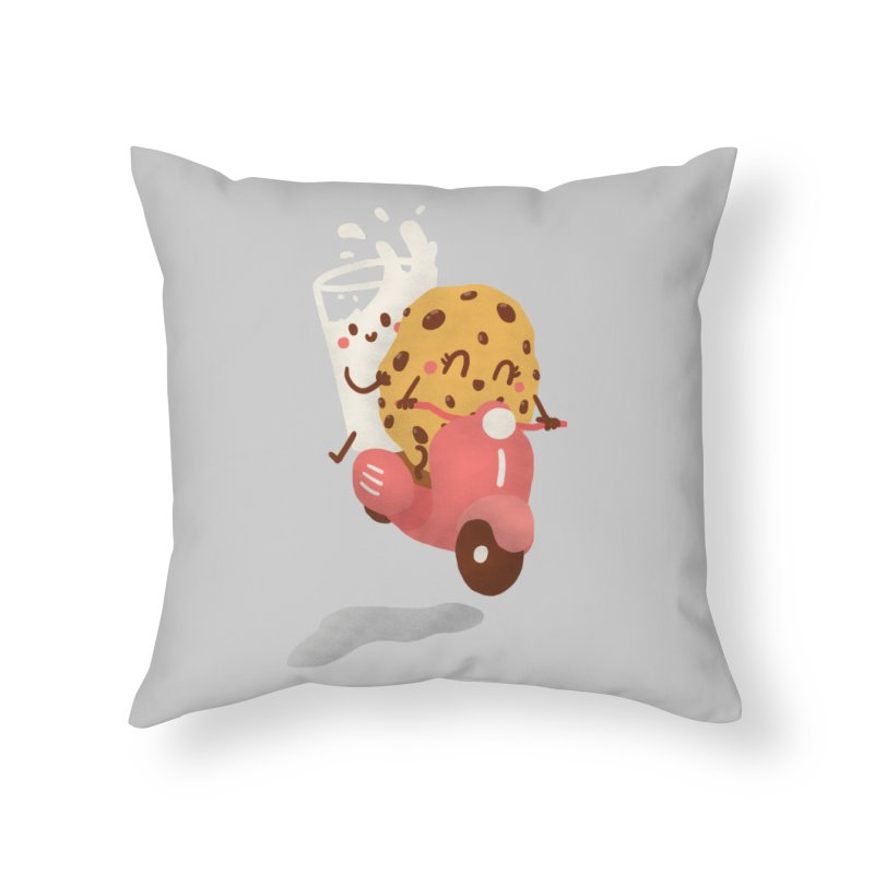 Roman holiday Home Throw Pillow by Rodrigobhz