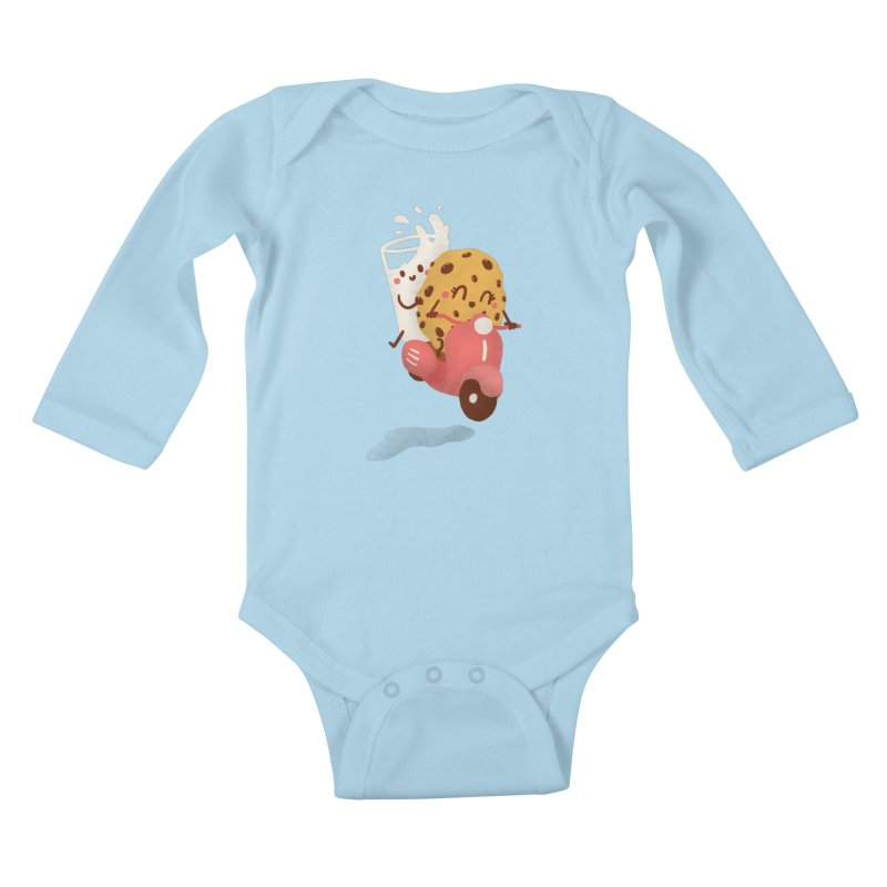 Roman holiday Kids Baby Longsleeve Bodysuit by Rodrigobhz