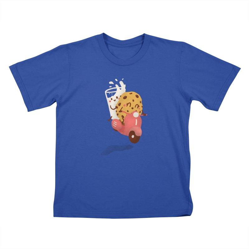Roman holiday Kids T-Shirt by Rodrigobhz
