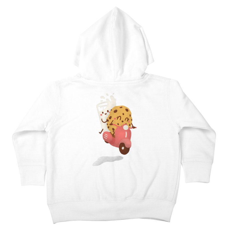 Roman holiday Kids Toddler Zip-Up Hoody by Rodrigobhz