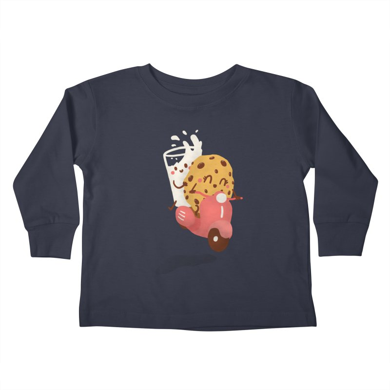 Roman holiday Kids Toddler Longsleeve T-Shirt by Rodrigobhz