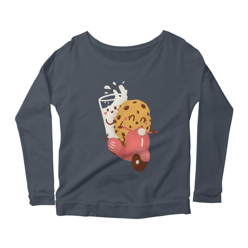 Roman holiday Women's Scoop Neck Longsleeve T-Shirt by Rodrigobhz