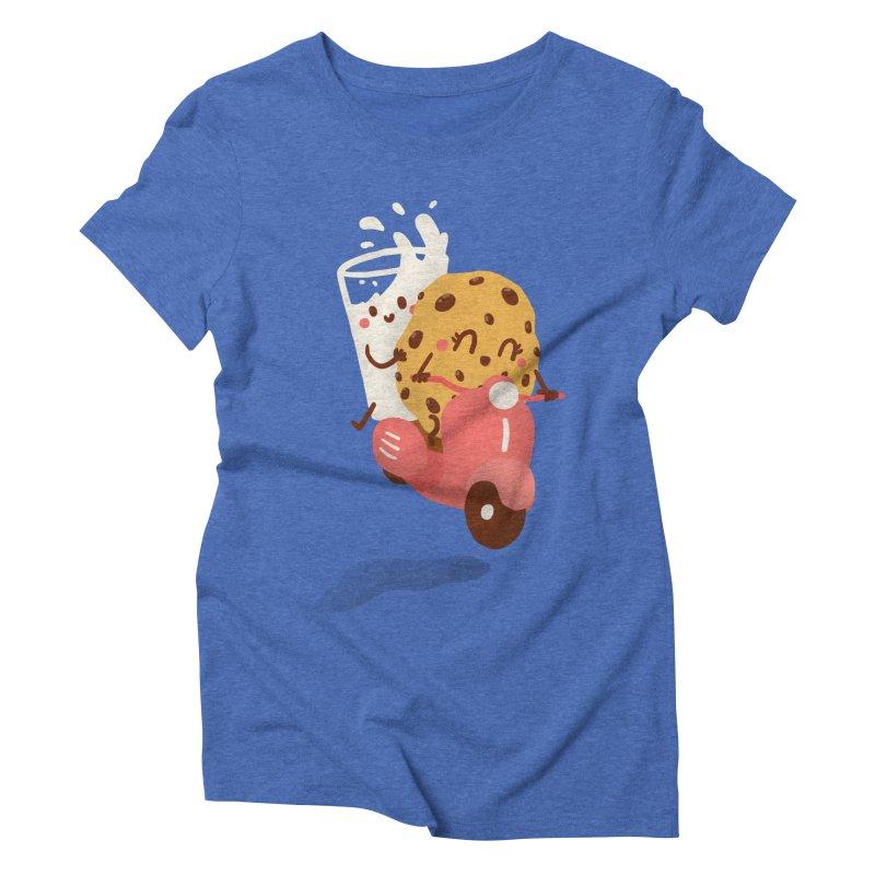 Roman holiday Women's Triblend T-Shirt by Rodrigobhz