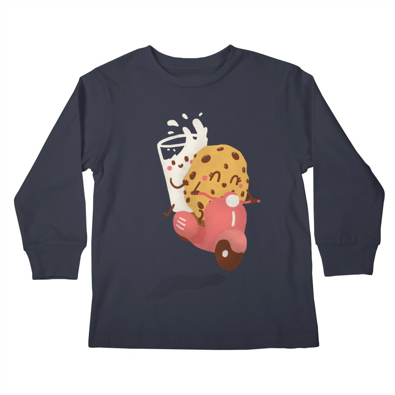 Roman holiday Kids Longsleeve T-Shirt by Rodrigobhz