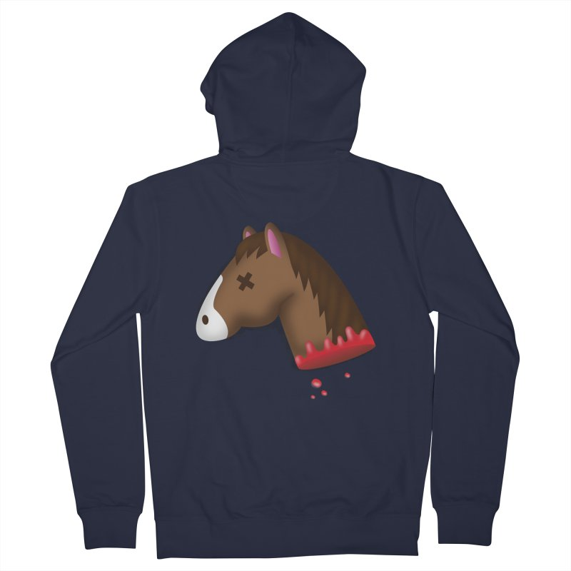 AN OFFER HE CAN'T REFUSE Men's French Terry Zip-Up Hoody by Rodrigobhz