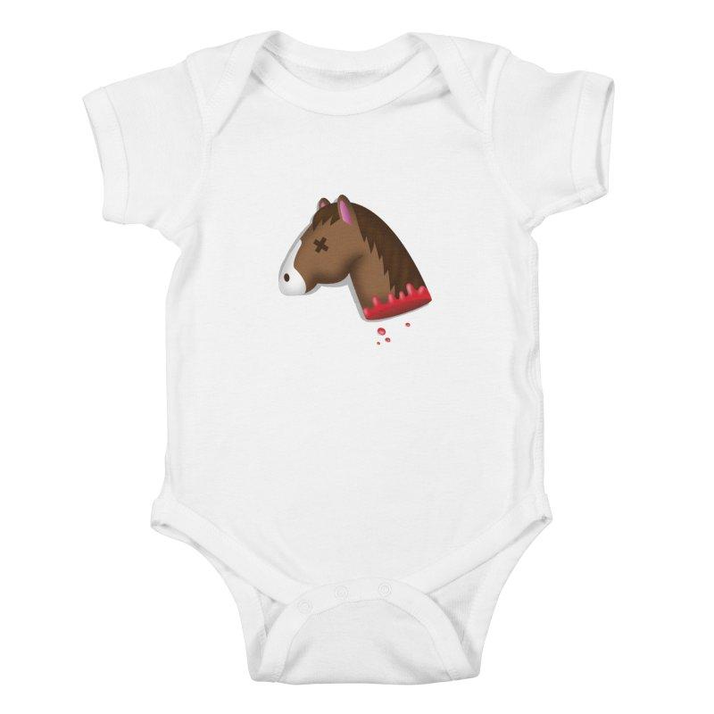 AN OFFER HE CAN'T REFUSE Kids Baby Bodysuit by Rodrigobhz