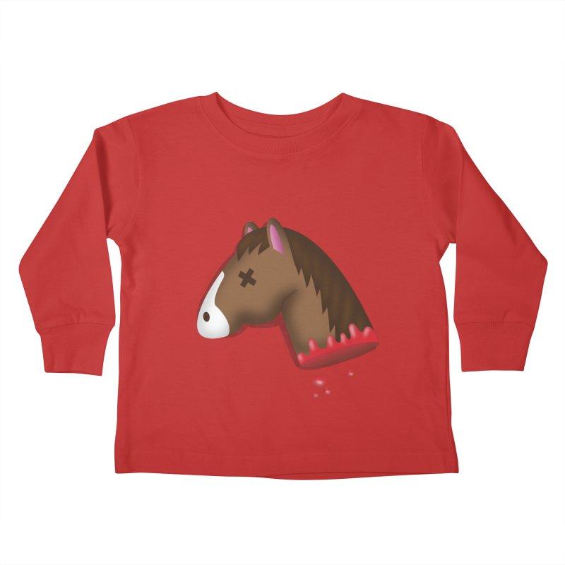 AN OFFER HE CAN'T REFUSE Kids Toddler Longsleeve T-Shirt by Rodrigobhz