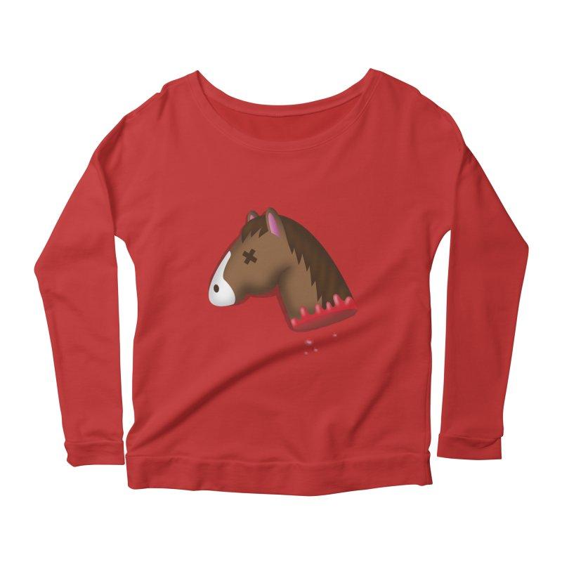 AN OFFER HE CAN'T REFUSE Women's Scoop Neck Longsleeve T-Shirt by Rodrigobhz
