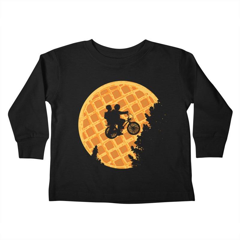 S.T. Stranger Things Kids Toddler Longsleeve T-Shirt by Rodrigobhz